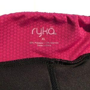 Ryka Pants - RYKA SKIRTED CAPRI LEGGINGS